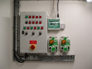 Control Panel and Alarms